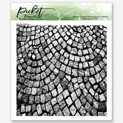 Picket Fence leimasin Cobblestone Path