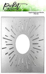Picket Fence stanssi Negative Sparks Cover Plate