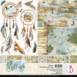 Ciao Bella Patterns Pad paperipakkaus Delta 12