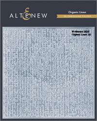 Altenew 3D kohokuviointikansio Organic Linen