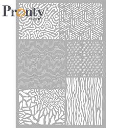 Pronty sapluuna Pattern Background 5, A4