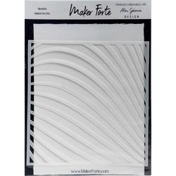 Maker Forte sapluuna Abstract Lines