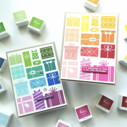Pinkfresh Studio leimasin Gift Boxes