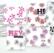 Pinkfresh Studio sapluunasetti Seamless Starburst Circles Layering, A2