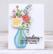 Pinkfresh Studio stanssisetti Floral Vase