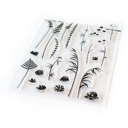 Pinkfresh Studio leimasinsetti Wild Flower Sketches