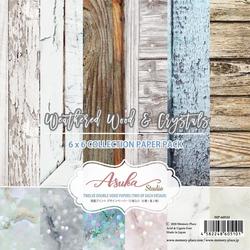 Memory Place paperipakkaus Weathered Wood & Crystals