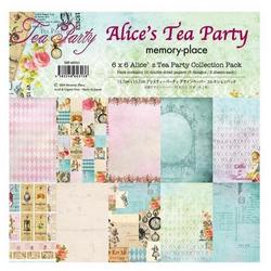 Memory Place paperipakkaus Alice's Tea Party