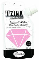 Aladine Izink Diamond -glittermaali, sävy Rose Poudre