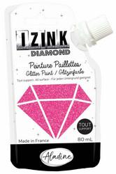 Aladine Izink Diamond -glittermaali, sävy Fuschia
