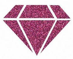 Aladine Izink Diamond -glittermaali, sävy Rose Eggplant by Seth Apter