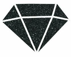 Aladine Izink Diamond -glittermaali, sävy Noir