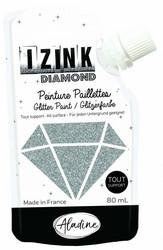 Aladine Izink Diamond -glittermaali, sävy Argente