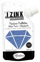 Aladine Izink Diamond -glittermaali, sävy Bleu