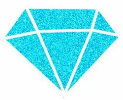 Aladine Izink Diamond -glittermaali, sävy Bleu Caraibe