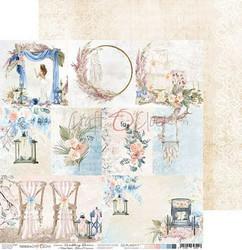 Craft O'clock skräppipaperi Wedding Dream, Decorative Cards