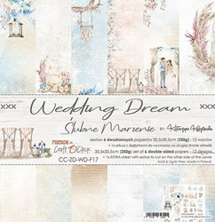 Craft O'clock paperipakkaus Wedding Dream, 12