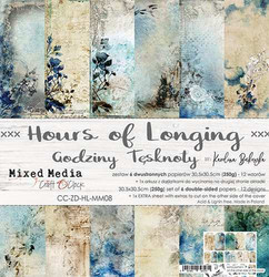 Craft O'clock paperipakkaus Hours of Longing, 12