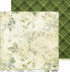 Craft O'clock skräppipaperi Green Mood 05