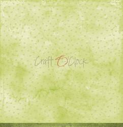 Craft O'clock skräppipaperi Green Mood 06
