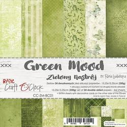 Craft O'clock paperipakkaus Green Mood