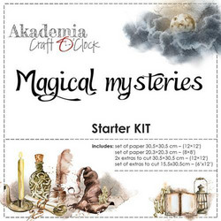 Craft O'clock Workshop Kit Magical Mysteries -paperipakkaus