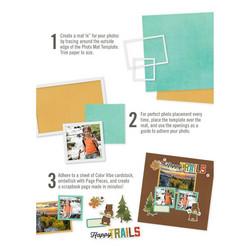Simple Stories Simple Pages Photo Mat Templates -sapluunat