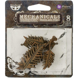 Finnabair Mechanicals -metallikoristeet Woodland Ferns