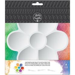 Kelly Creates Plastic -paletti ja 3 pipettiä