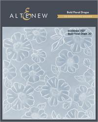 Altenew 3D kohokuviointikansio Bold Floral Drape 3D