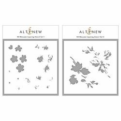 Altenew Hill Blossoms Layering -sapluunasetti