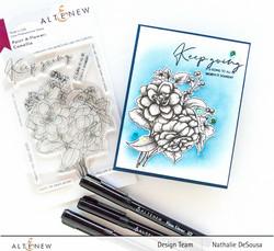 Altenew Paint-A-Flower: Camellia -leimasinsetti