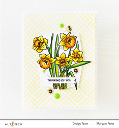 Altenew Paint-A-Flower: Daffodil -leimasinsetti