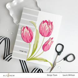 Altenew Craft-A-Flower: Tulip -stanssisetti