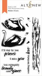 Altenew Modern Swans -leimasin