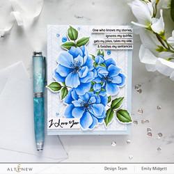 Altenew Fairy Tale Florals -leimasinsetti