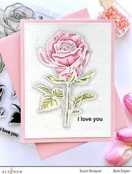 Altenew Fairy Tale Rose -leimasinsetti