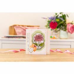 Gemini leimasin- ja stanssisetti November, Chrysanthemum