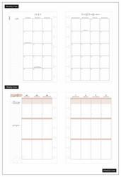 Mambi Mini Planner -kalenteri, Simple Faith, 12 kk päivätty