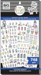 Mambi Happy Planner Value Pack -tarrapakkaus Stick Girls Craft