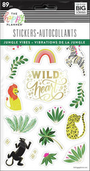 Mambi Happy Planner tarrat Jungle Vibes