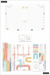 Mambi Happy Planner Classic Accessories -pakkaus, Painterly Pastels