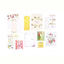 Mambi Planner Companion Classic -pakkaus, Pressed Florals