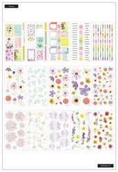 Mambi Happy Planner Value Pack -tarrapakkaus Pressed Florals