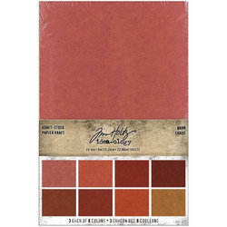Tim Holtz Idea-Ology paperikko Kraft-Stock Warm