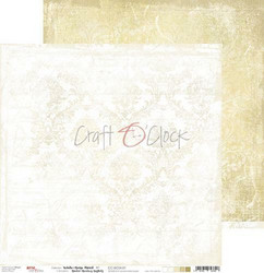 Craft O'clock skräppipaperi White-Beige Mood 01