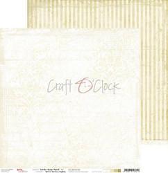 Craft O'clock skräppipaperi White-Beige Mood 02