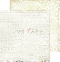 Craft O'clock skräppipaperi White-Beige Mood 04