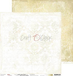Craft O'clock paperipakkaus White-Beige Mood, 12