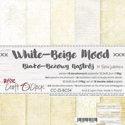 Craft O'clock paperipakkaus White-Beige Mood, 8